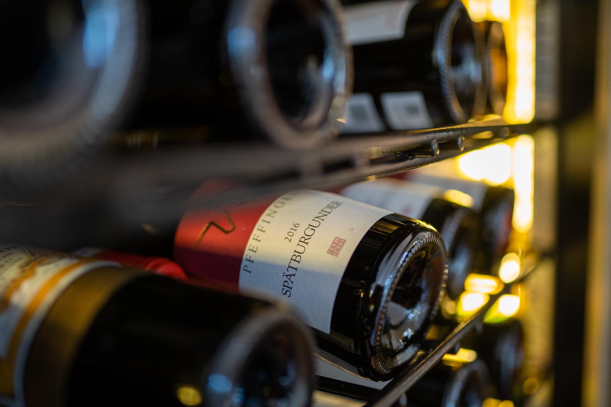 Hotel Hochwiesmühle - Weinschrank