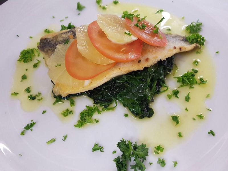 Hotel Hochwiesmühle -Restaurant Fischgericht
